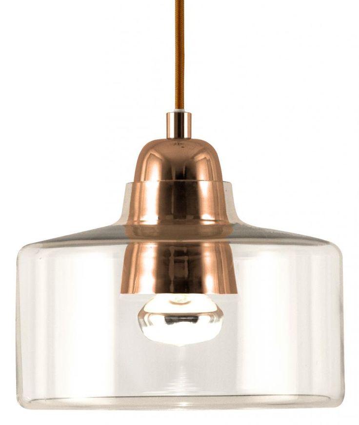 Topp pendel Kobber   Lampehuset