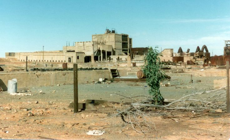 Abandoned Gold Processing Plant, Wiluna - 1974