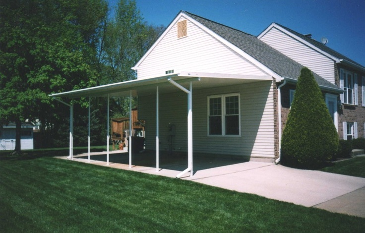 Carport attached to house dream home Pinterest