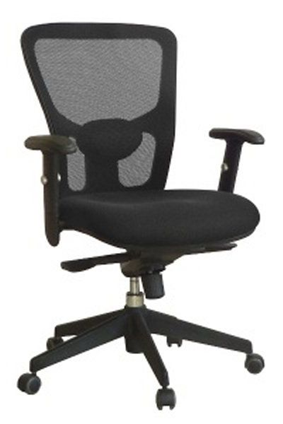 Office chair. Knee tilting mechanism. Available in black. #Office #Chair #OfficeChair