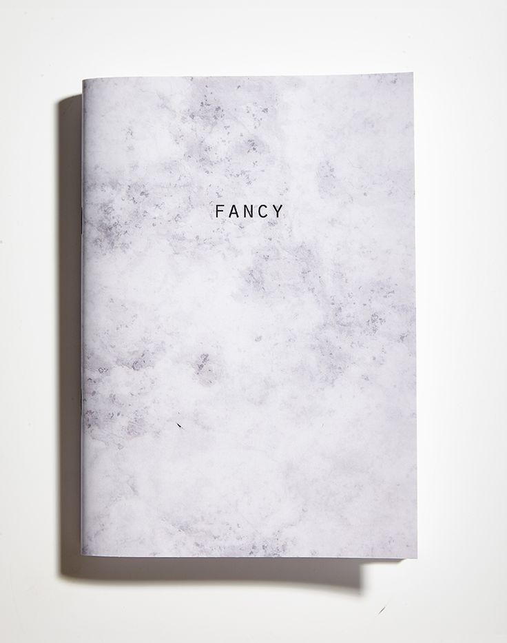 Fancy marble notebook notepad www.paperosa.pl