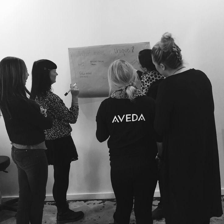Brainstorming Our Values @dalliancehair