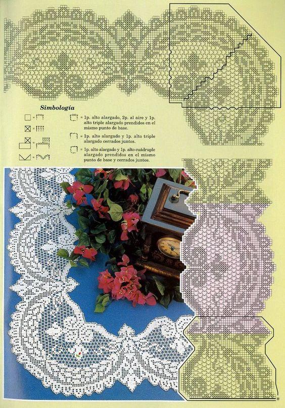 Romantic lace tablecloths
