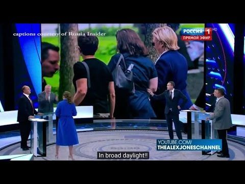 Russian TV: Hillary Clinton Is A Witch Who Will Start World War 3 - YouTube