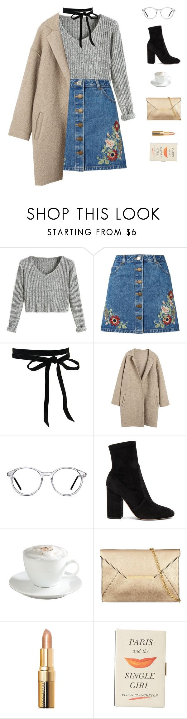 """Bold as Love // John Mayer"" by greciapaola ❤ liked on Polyvore featuring Miss Selfridge, GlassesUSA, Valentino, Sur La Table, Bobbi Brown Cosmetics and Kate Spade"