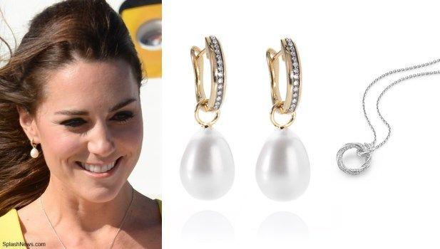Annoushka Pearl Drop Earrings Min And Webb Fortune Necklace Jewels Pinterest Australia William Kate Jewlery