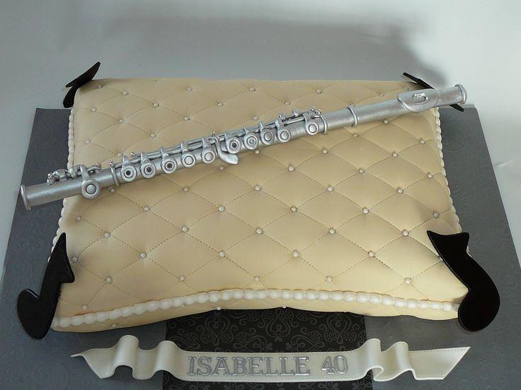 Music Cake - Flute