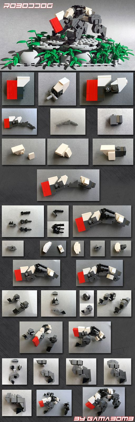 Mini Robodog Instruction | Here is the instruction for my mi… | Flickr