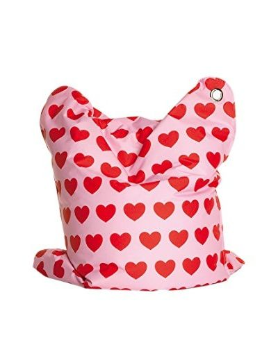 Sitting Bull Kindersitzsack Fashion Mini Bull Heartbeat rosa/rot []