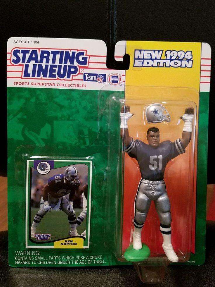 1994 Football Starting Lineup Ken Norton Dallas Cowboys Sealed #StartingLineup