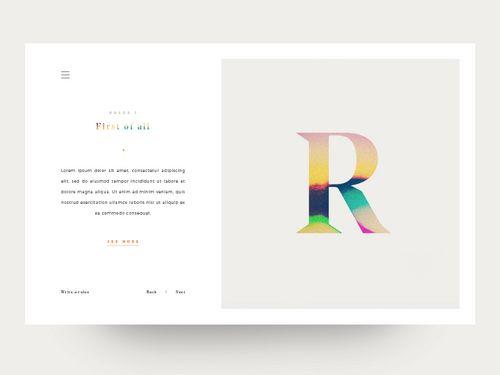 Rules card - via @designhuntapp