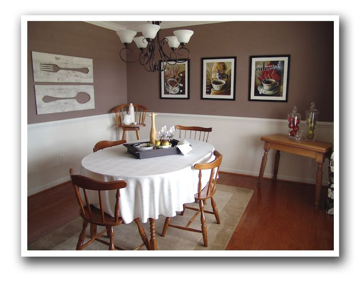 17 best images about royal oak 2013 on pinterest house tours paint colors and ash for Casual dining room wall ideas