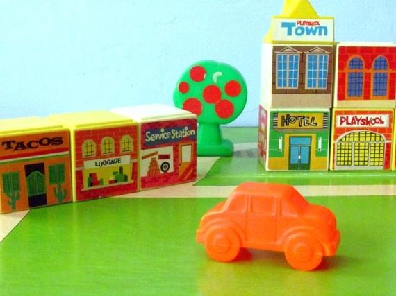 Playskool Town Blocks Toy Toys Pinterest Toys And