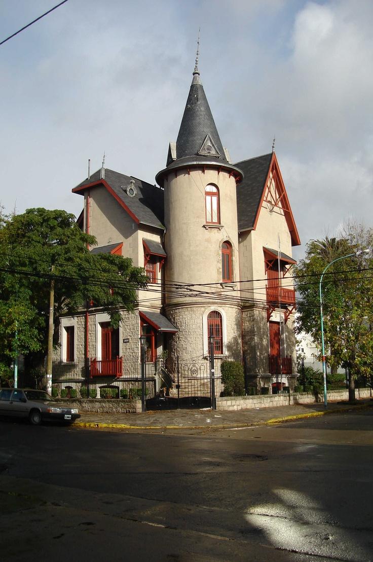 Un ejemplo de las fabulosas arquitecturas de Mar del Plata