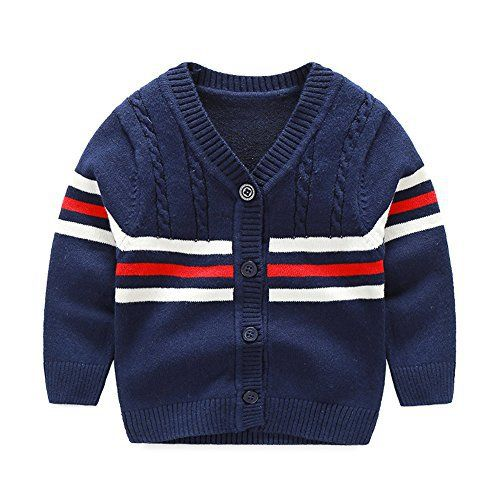 """Product review for KASULAR Baby Boys Sweater Cotton Warm Sweaters Cardigan Knitting Long-Sleeved.        Famous Words of Inspiration...""""The sports page records people's accomplishments; The front page nothing but their failures.""""   Earl Warren — Click here for more from Earl..."""