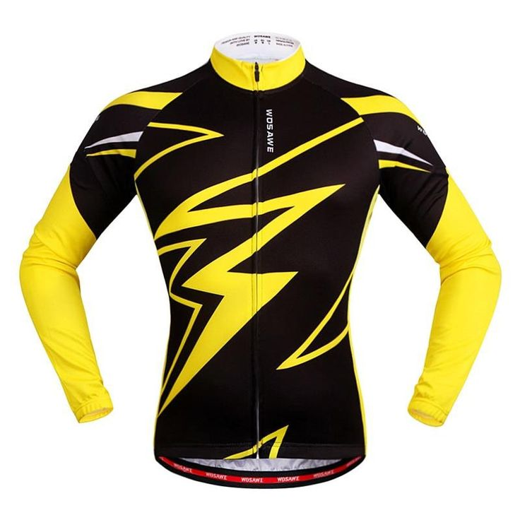Stand out from the pack with these jerseys, offering striking designs and anti wrinkle material