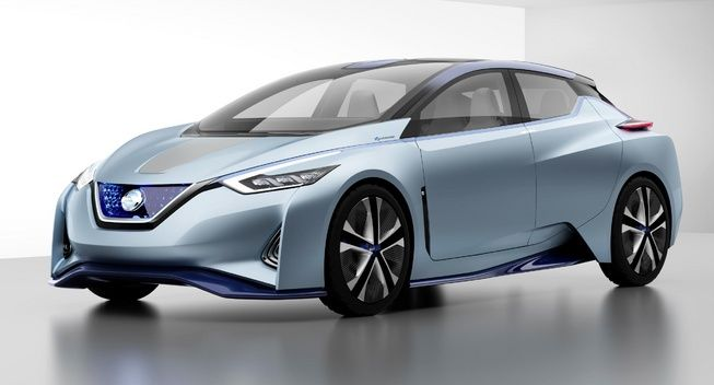Nissan Electric Cars On Roads Faster Front View