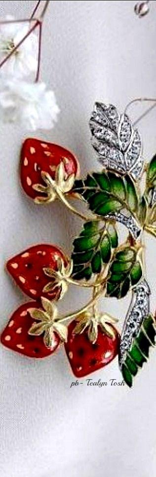 """❇Téa Tosh❇""""In the Jewelry Garden"""", Kunio Nakajima"""
