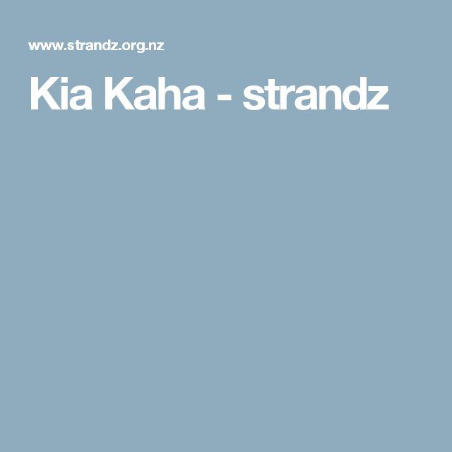Kia Kaha - strandz