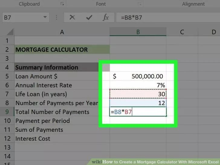 Pin On House Payment Calculator With Amortization