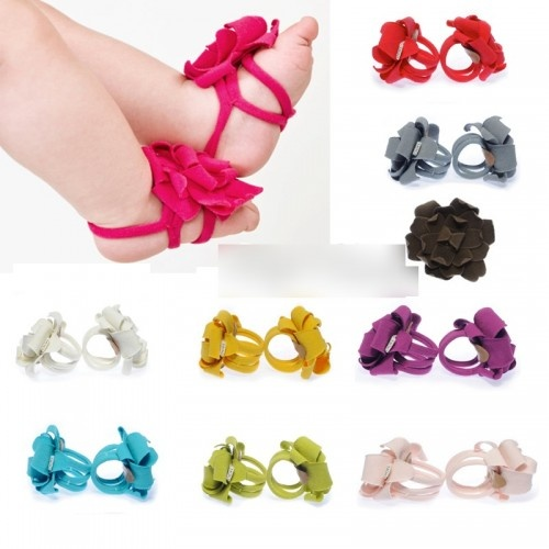 Seriously..can these be any cuter!: Little Girls, Crafts Ideas, Baby Feet, Baby Sandals, Baby Girls, Baby Barefoot Sandals, Baby Shoes, Flower, Kid