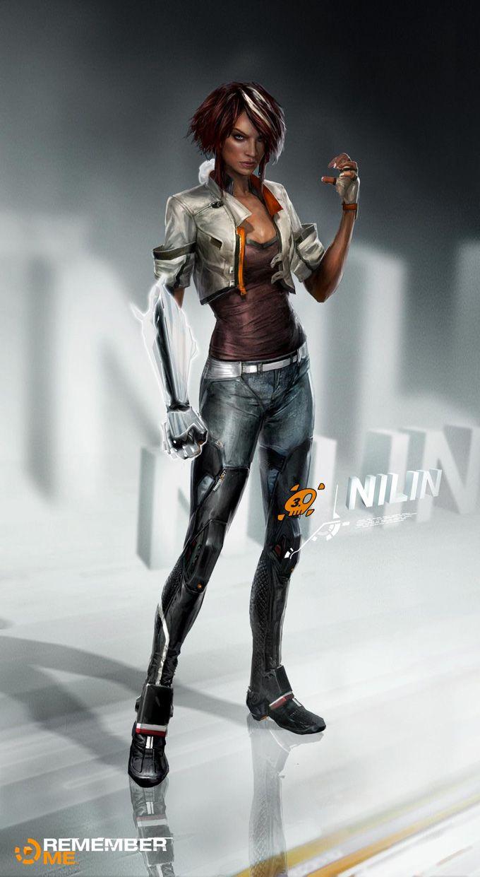 Remember Me video game Concept Art by Frédéric Augis! http://conceptartworld.com/?p=20233