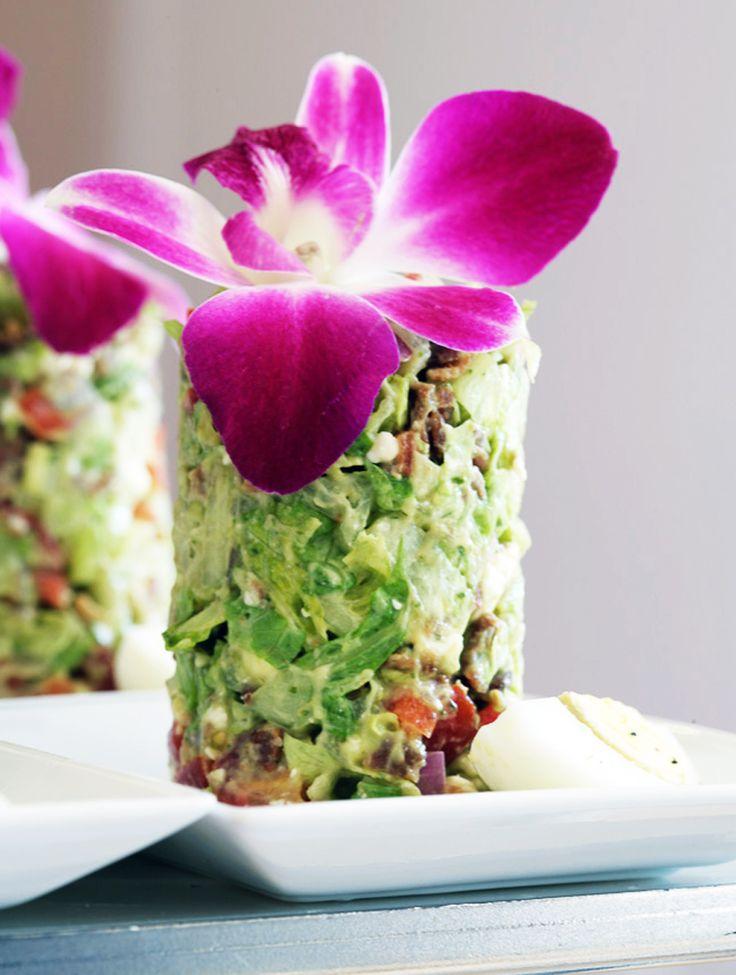 Avocado Cobb Salad.... Sooooo pretty!