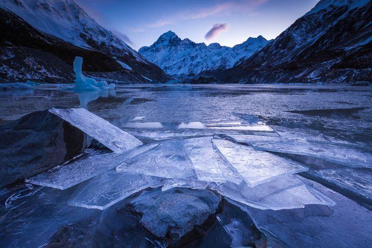 Windblown Ice