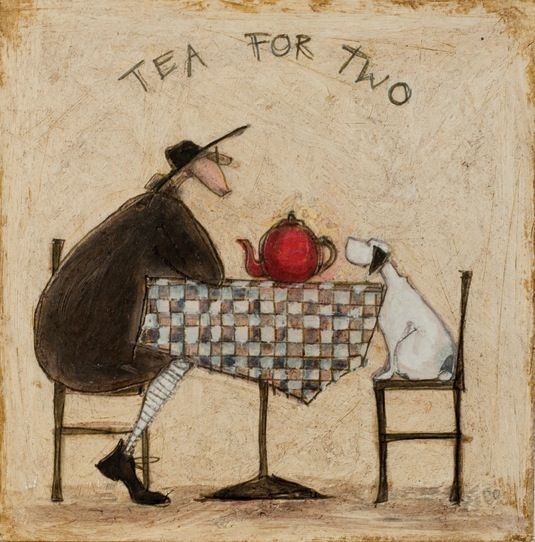 Original - Tea for two by Sam Toft