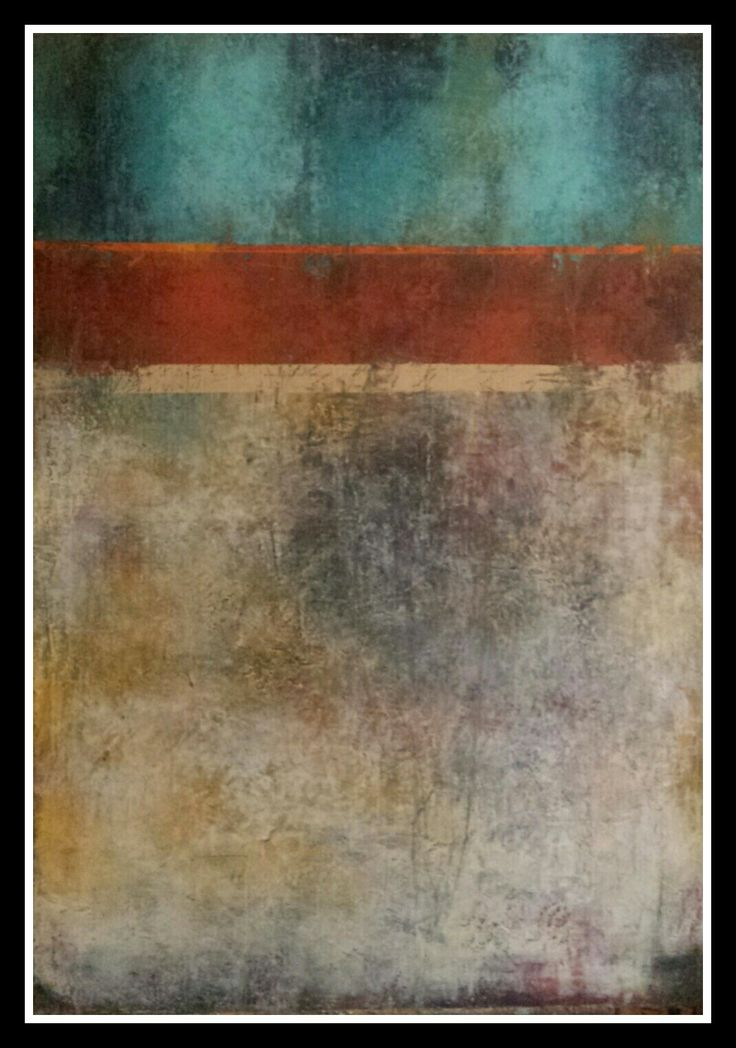 """""""As time goes by""""  100 ×70  Oil and cold wax on canvas"""
