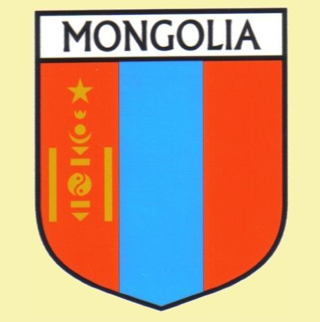 For Everything Genealogy - Mongolia Flag Country Flag Mongolia Decals Stickers Set of 3, $15.00 (http://www.foreverythinggenealogy.com.au/mongolia-flag-country-flag-mongolia-decals-stickers-set-of-3/)