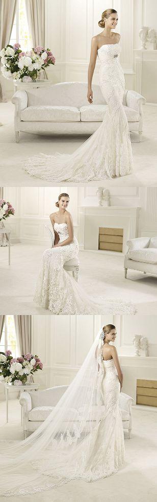 Lovely Dietrich Wedding Dress ♥ ♥ ♥ http://www.pronovias.co.uk/bridal-dresses-2013/fashion-collection-dietrich