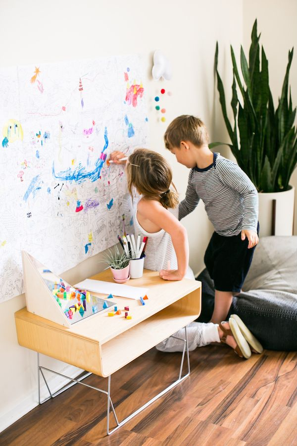 Coloring Wall For Kids