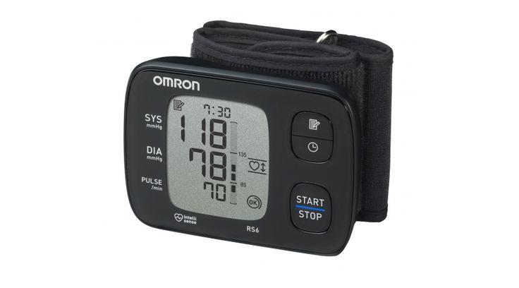 Az OMRON RS6 készüléke egy kompakt, könnyen használható, oszcillometrikus elven működő vérnyomásmérő. Gyorsan és egyszerűen méri a vérnyomást és a pulzusszámot. 90 memóriatárhely dátum és időkijelzéssel.