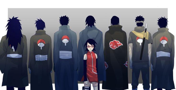 Uchiha Sasuke Obito Tobirama Madara Sarada Naruto Наруто bayram13