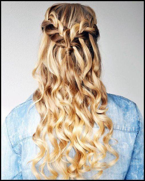 20 Wunderschone Wasserfall Frisuren Susse Lange Frisuren Hair