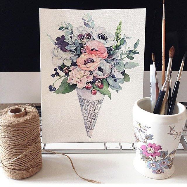 Painting by Natalia Kadantseva @Kadantsevanatalia by cardfolio