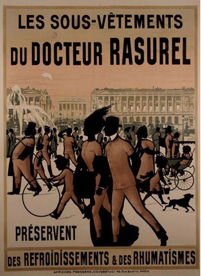 """""""Calorifère et Rasurel"""" (Réclame de 1912) by Patrice Louis  Ha! Who else would think of heaters? ;)"""