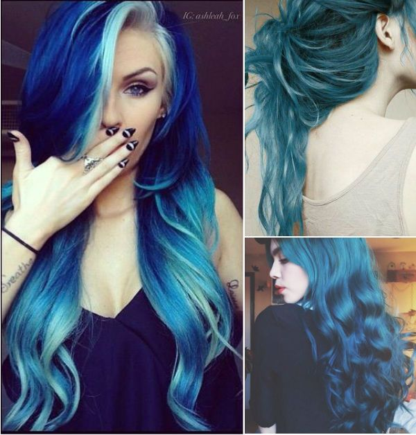 25 Best Ideas About Teal Green Color On Pinterest: Best 25+ Funky Hair Colors Ideas On Pinterest