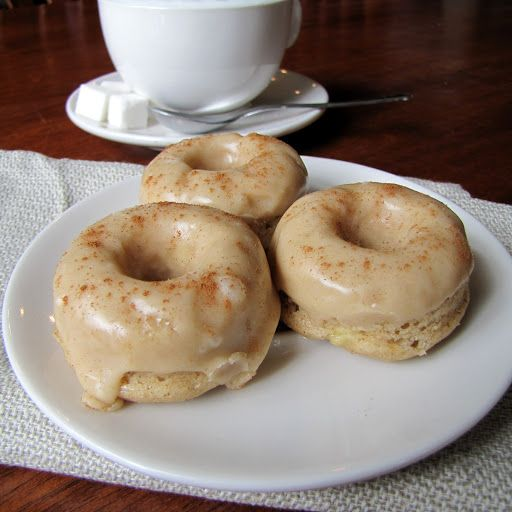 Baked Banana Donuts with Brown Butter Glaze | Rumbly in my Tumbly