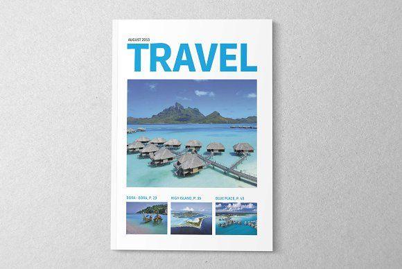 Magazine/Editorial Template 03 by Brandson on @creativemarket