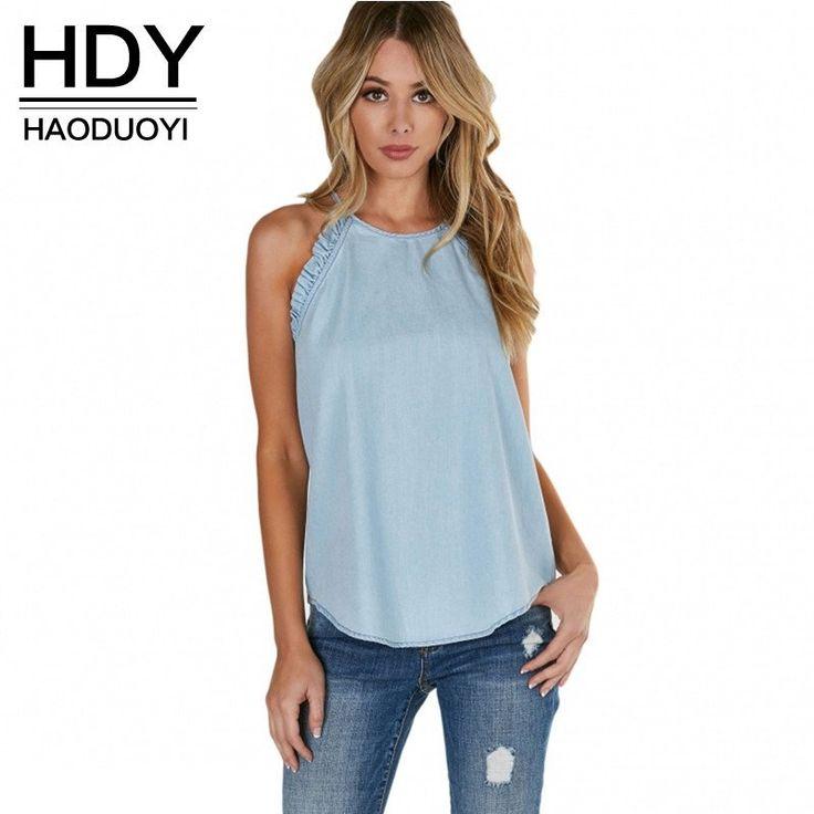 Shoulder Hollow Out O-Neck T-Shirt
