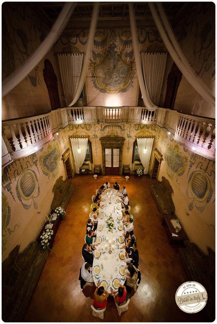 Villa Calciati in Cremona, a magnificent hunting lodge in Northern Italy. Ph Franco Lops http://www.brideinitaly.com/2013/11/francolops-cremona.html #wedding #italy