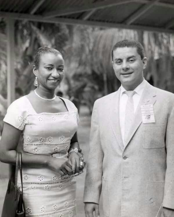 A young Celia Cruz and young Tito Puente!
