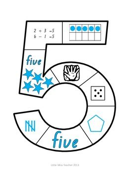 Number Puzzles (Numbers 1 - 9 Included).