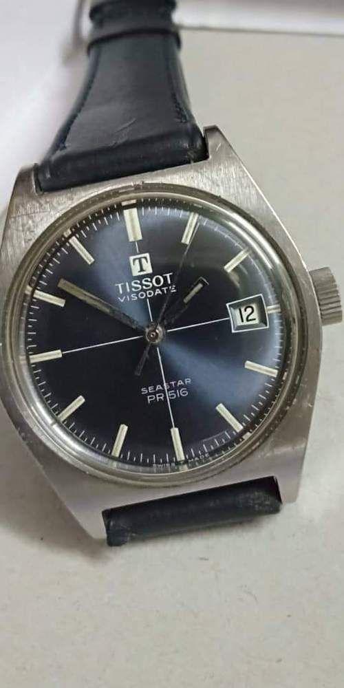 db19642b650 Vintage TISSOT Seastar Visodate PR516 Winding Rare Swiss Man's Wristwatch # Tissot #BigFaceDiverLuxury