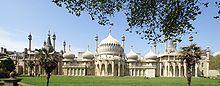 The Royal Pavilion Brighton by john Nash