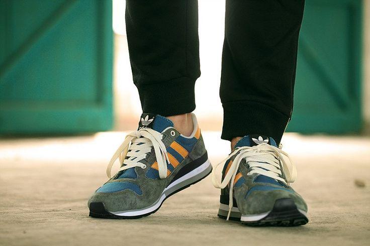 huge selection of cbf63 c4891 ... store adidas originals zx 500 og corriendo zapatos armada oro blanco  hombres m19292 descuento 5d784 5dd37