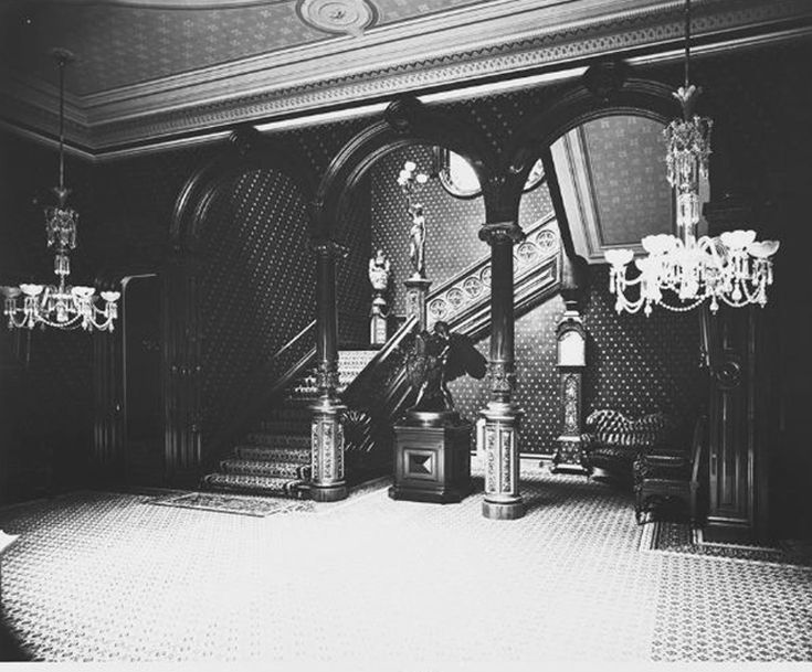 https://flic.kr/p/8urJzi | Thurlow Lodge stairway 1873