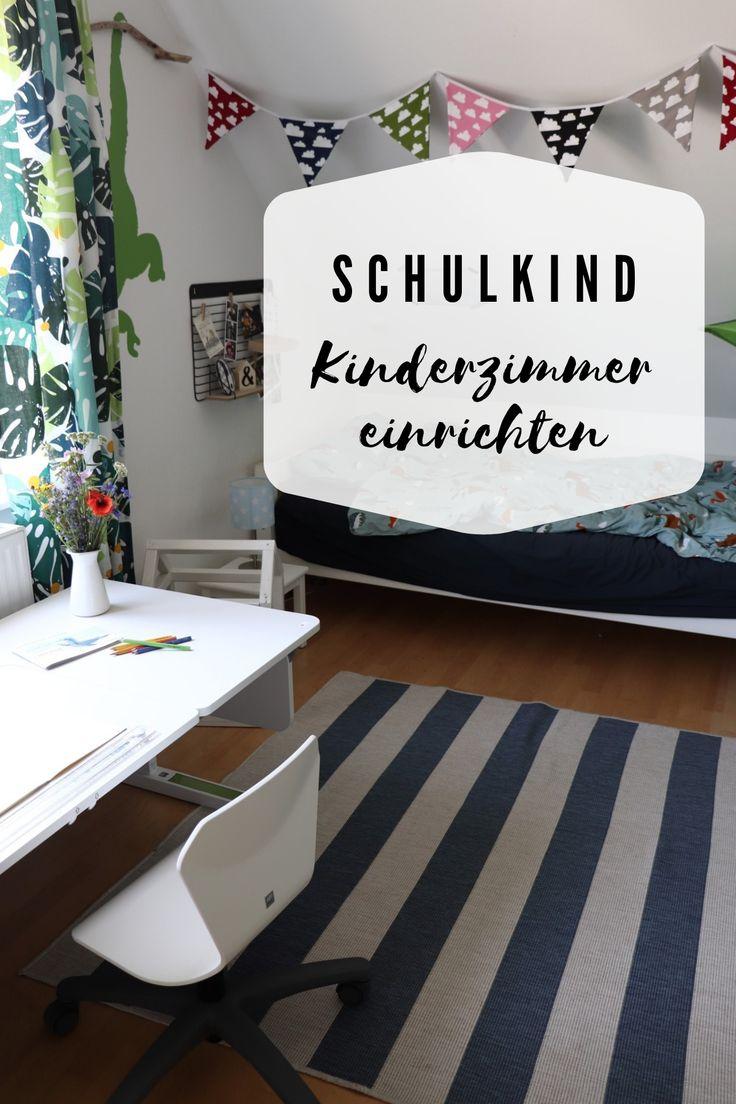 Schulkind-Kinderzimmer einrichten: Ideen & Inspirationen
